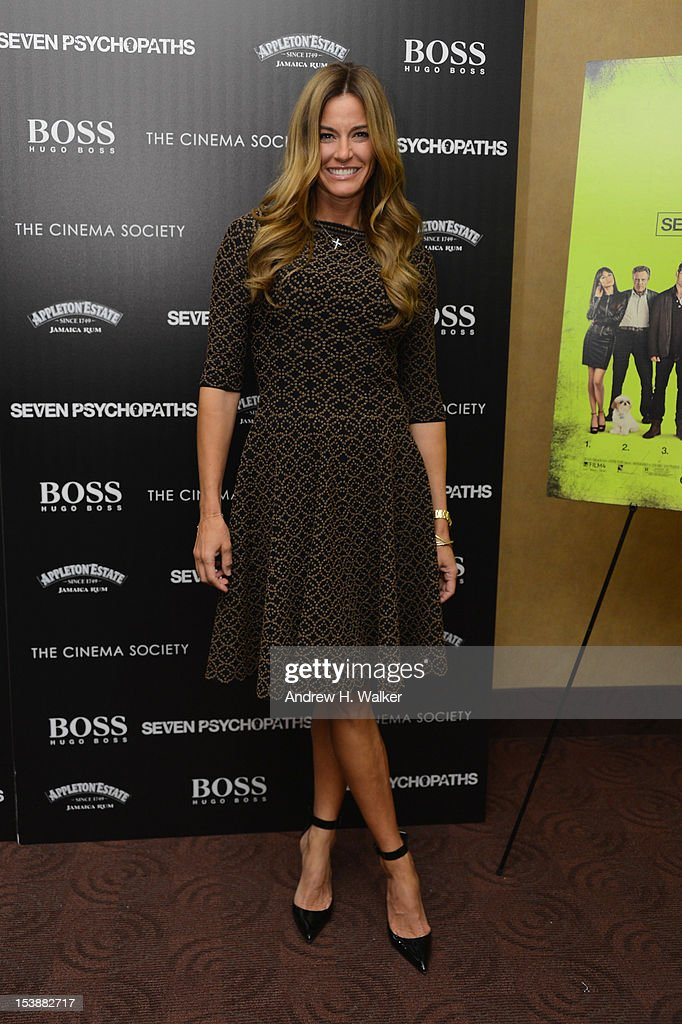 Kelly Bensimon attends The Cinema Society And CBS Films Screening Of 'Seven Psychopaths' at Clearview Chelsea Cinemas on October 10, 2012 in New York City.