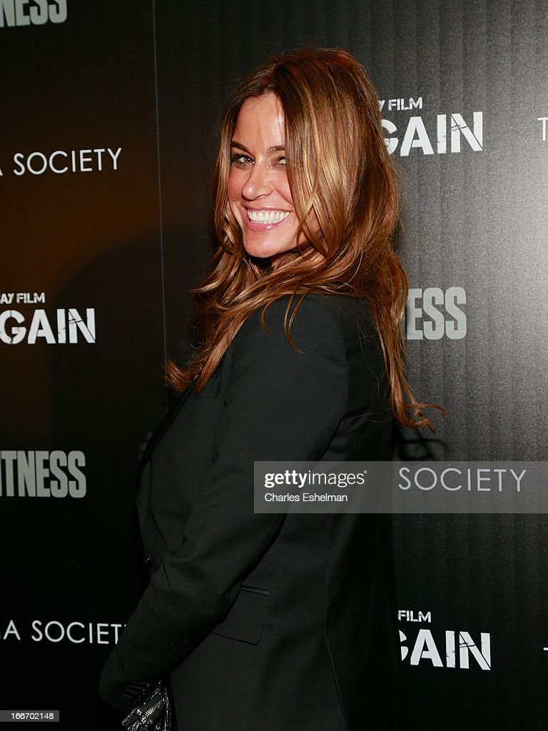 Kelly Bensimon attends The Cinema Society and Men's Fitness screening of 'Pain and Gain' at the Crosby Street Hotel on April 15, 2013 in New York City.