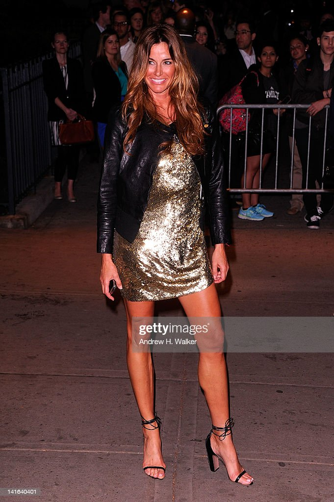 Kelly Bensimon attends the Cinema Society & Calvin Klein Collection screening of 'The Hunger Games' at SVA Theatre on March 20, 2012 in New York City.