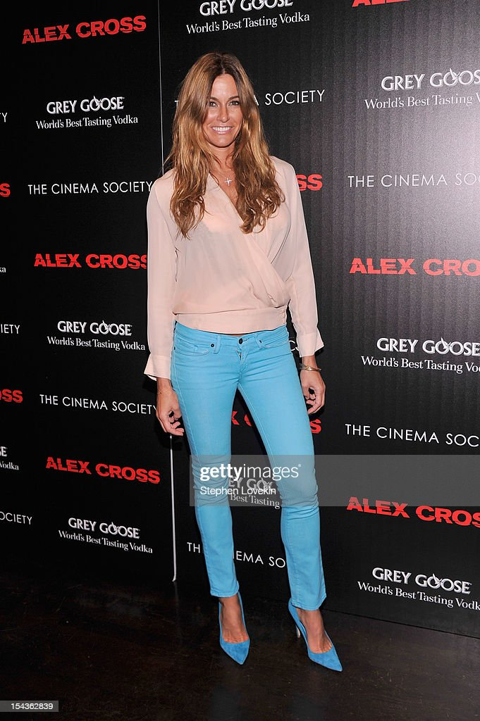 Kelly Bensimon attends The Cinema Society & Grey Goose Host A Screening Of 'Alex Cross' at Tribeca Grand Hotel on October 18, 2012 in New York City.