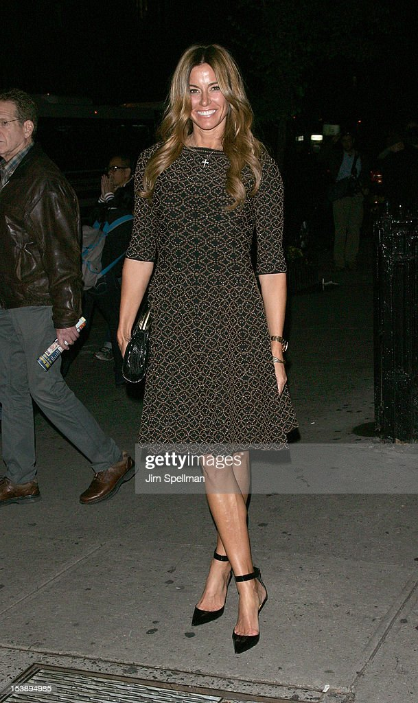 Kelly Bensimon attends The Cinema Society with Hugo Boss and Appleton Estate screening of 'Seven Psychopaths' at Clearview Chelsea Cinemas on October 10, 2012 in New York City.
