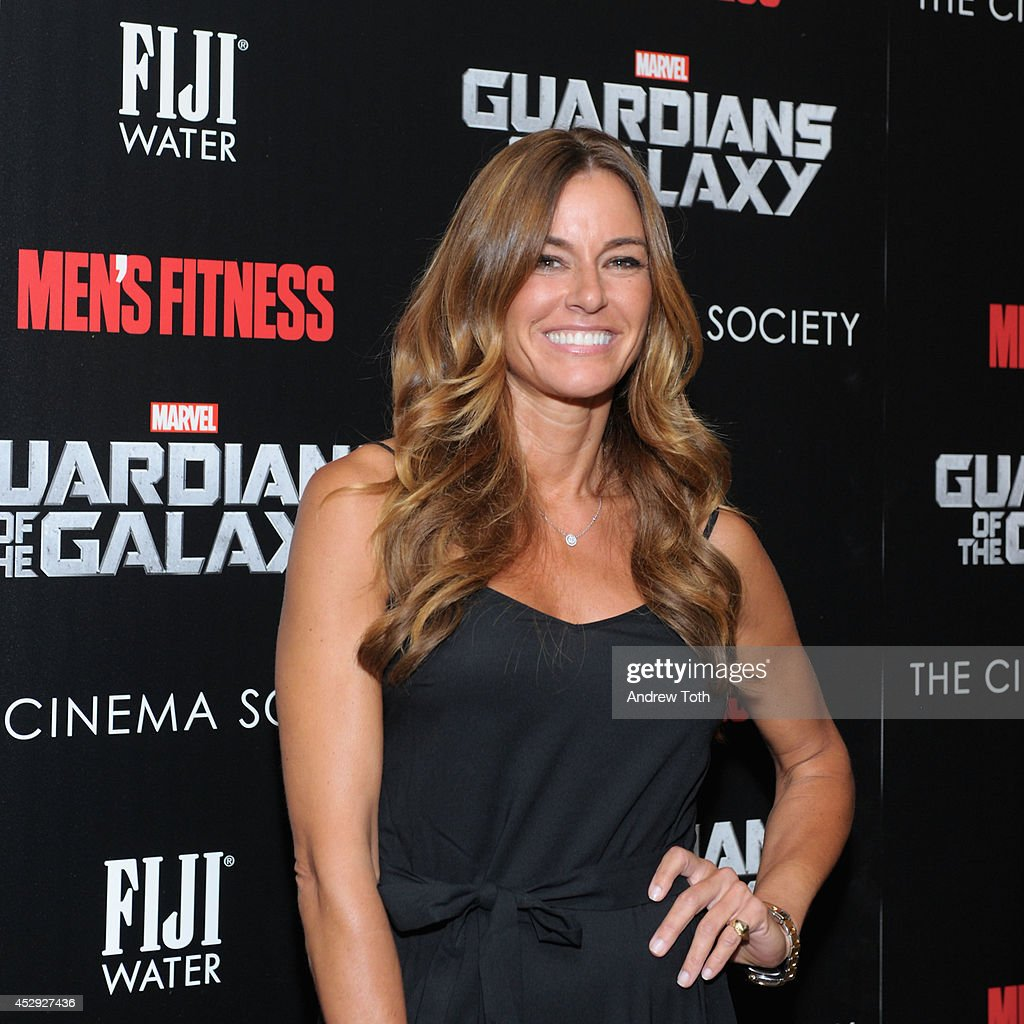 Kelly Bensimon attends The Cinema Society with Men's Fitness & FIJI Water host a screening of 'Guardians of the Galaxy' on July 29, 2014 in New York City.