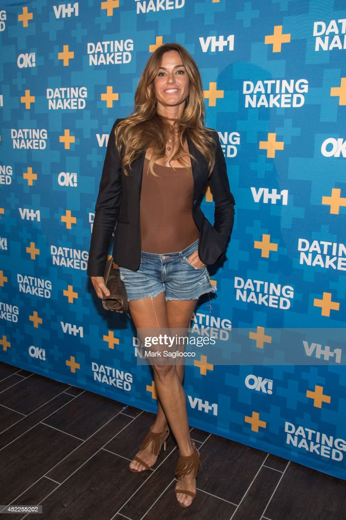 Kelly Bensimon attends the 'Dated Naked' series premiere at the Gansevoort Park Avenue Hotel on July 16 2014 in New York City