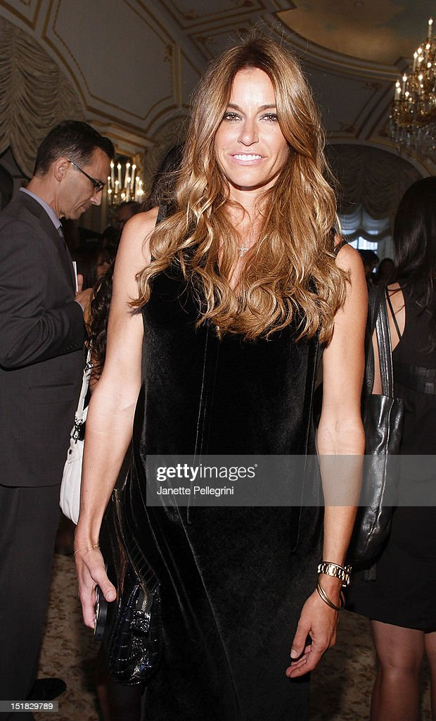 Kelly Bensimon attends the Dennis Basso spring 2013 presentation during Mercedes-Benz Fashion Week at the St. Regis Hotel on September 11, 2012 in New York City.