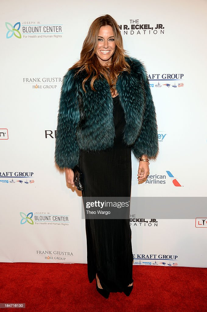 Kelly Bensimon attends the Elton John AIDS Foundation's 12th Annual An Enduring Vision Benefit at Cipriani Wall Street on October 15, 2013 in New York City.