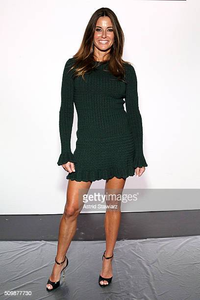 Kelly Bensimon attends the Francesca Liberatore Fall 2016 fashion show during New York Fashion Week The Shows at The Dock Skylight at Moynihan...