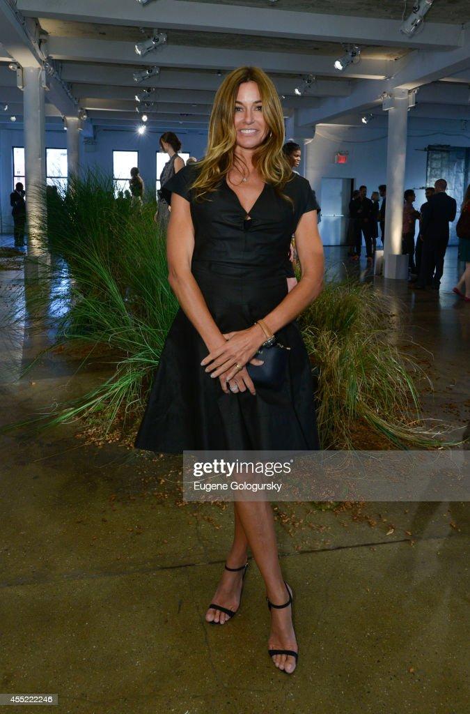 Kelly Bensimon attends the Hanley Mellon Spring 2015 Collection at Hudson Mercantile on September 10 2014 in New York City