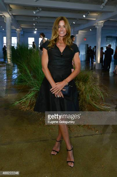 Kelly Bensimon attends the Hanley Mellon Spring 2015 Collection at Hudson Mercantile on September 10 2014 in New York City