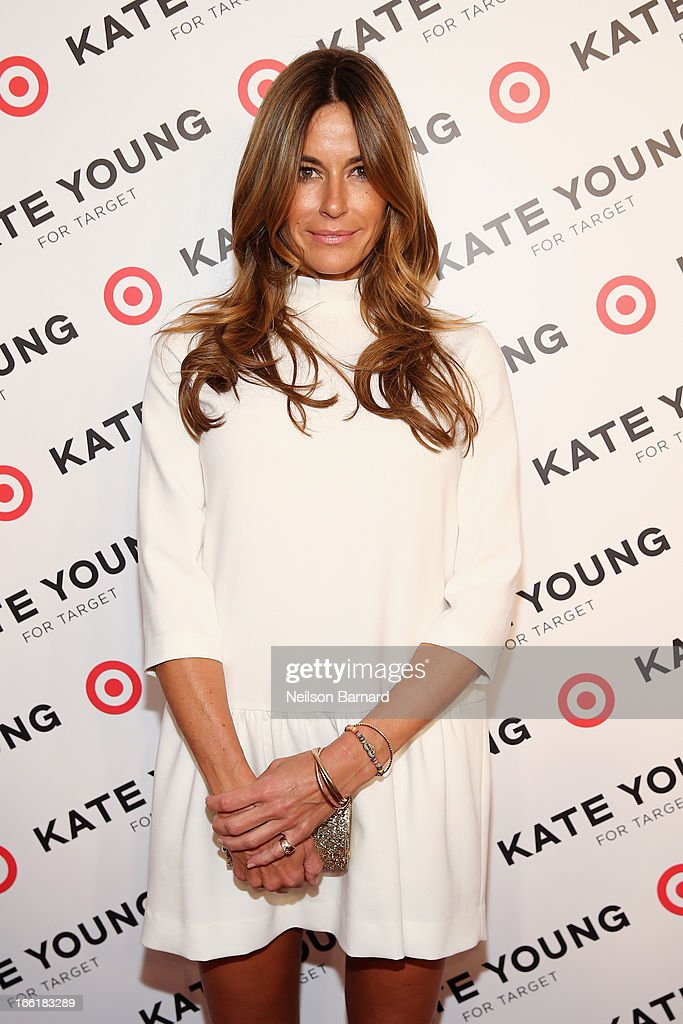 Kelly Bensimon attends the Kate Young for Target launch event on April 9, 2013 in New York City.
