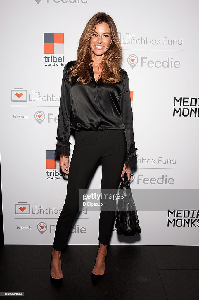 Kelly Bensimon attends the Lunchbox Fund Fall Fete 2013 at Buddakan on October 9, 2013 in New York City.