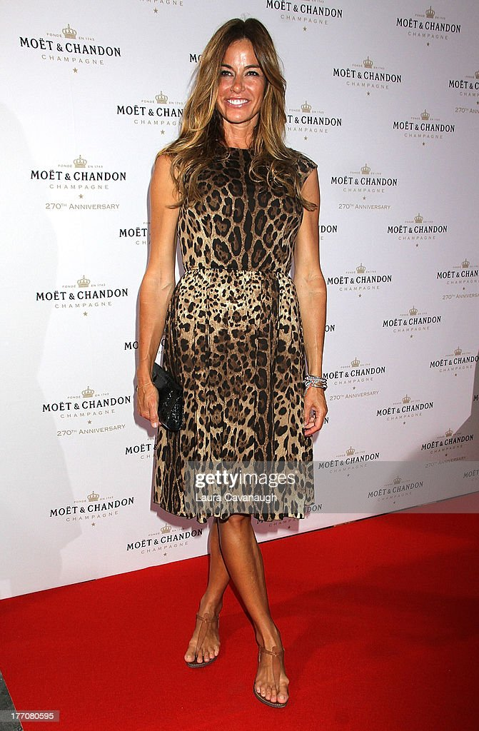 Kelly Bensimon attends the Moet & Chandon 270th Anniversary at Pier 59 Studios on August 20, 2013 in New York City.