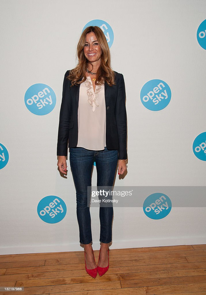 Kelly Bensimon attends the OpenSky Pop-Up Gallery launch at 477 Broome Street on November 10, 2011 in New York City.