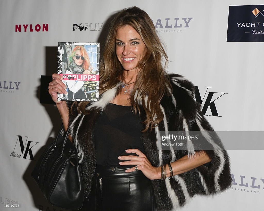 Kelly Bensimon attends the 'Popplicks: Plus One' Book Launch Event at The Gallery at The Dream Downtown Hotel on September 9, 2013 in New York, United States.