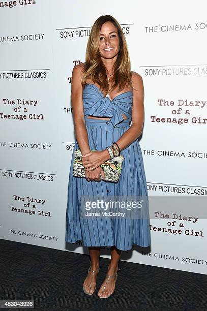 Kelly Bensimon attends the screening of Sony Pictures Classics 'The Diary Of A Teenage Girl' hosted by The Cinema Society at Landmark Sunshine Cinema...