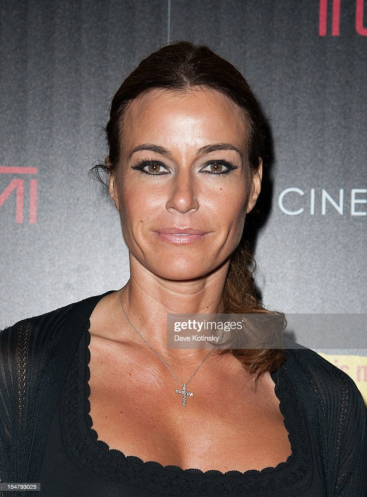 Kelly Bensimon attends The Weinstein Company With The Cinema Society And Tumi Host A Screening Of 'This Must Be the Place' at Tribeca Grand Hotel on October 25, 2012 in New York City.