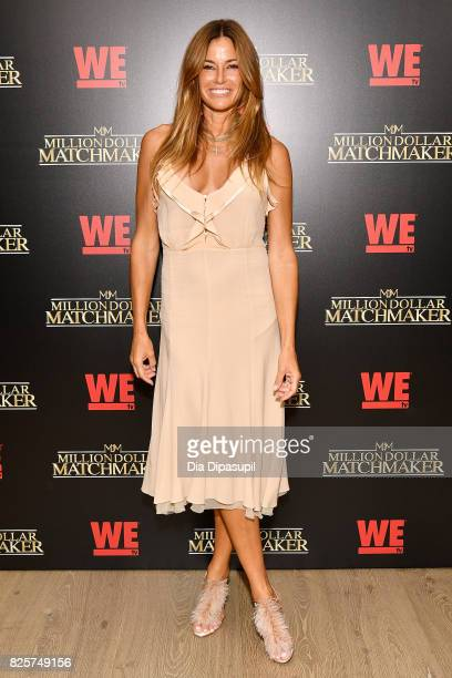 Kelly Bensimon attends WE tv's Exclusive Premiere of Million Dollar Matchmaker Season 2 at the Whitby Hotel on August 2 2017 in New York City