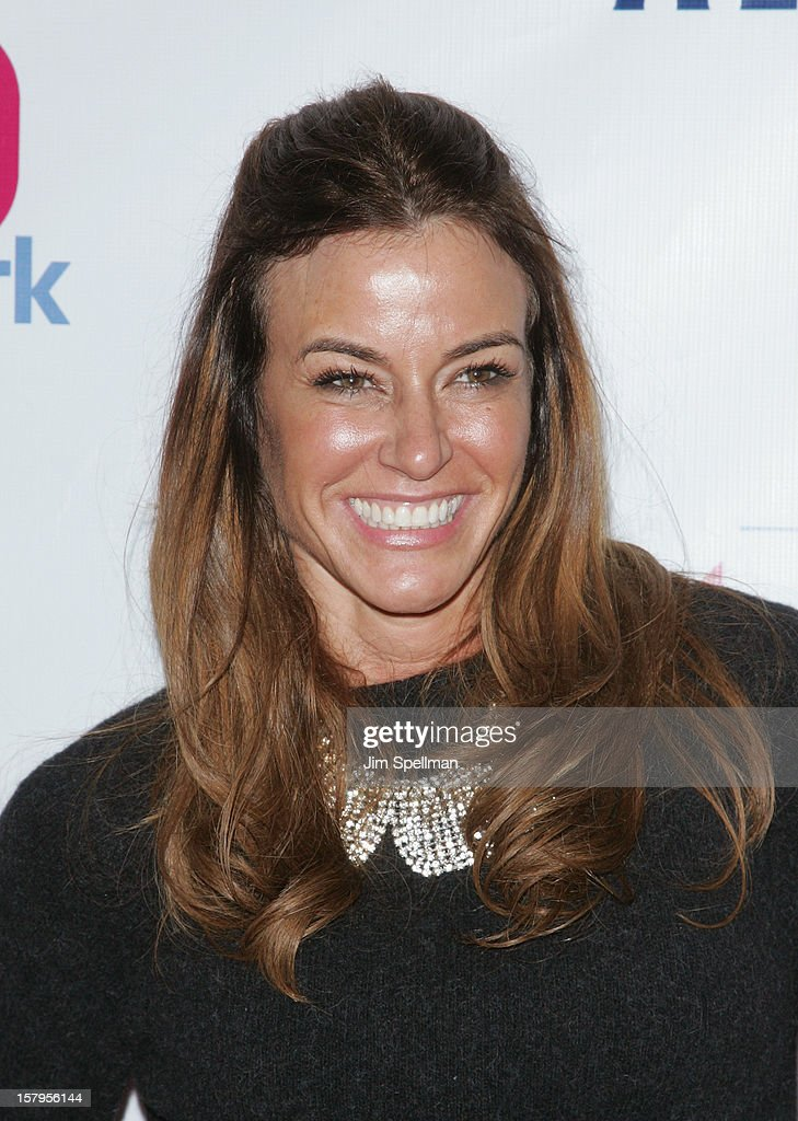 Kelly Bensimon attends Z100's Jingle Ball 2012, presented by Aeropostale, at Madison Square Garden on December 7, 2012 in New York City.