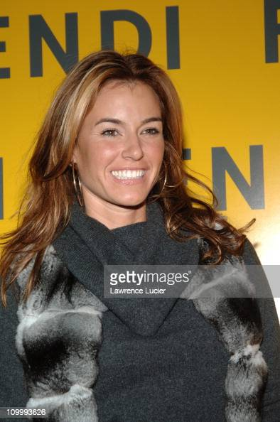 Kelly Bensimon during Fendi Flagship Store Opening and Announcement of The Fendi Rome Prize Fellowship at The American Academy in Rome at Fendi...