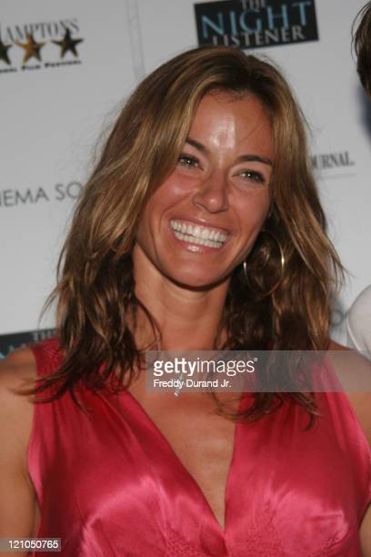 Kelly Bensimon during The Cinema Society and The Wall Street Journal present a screening of 'The Night Listener' at East Hampton Movie Theater in...