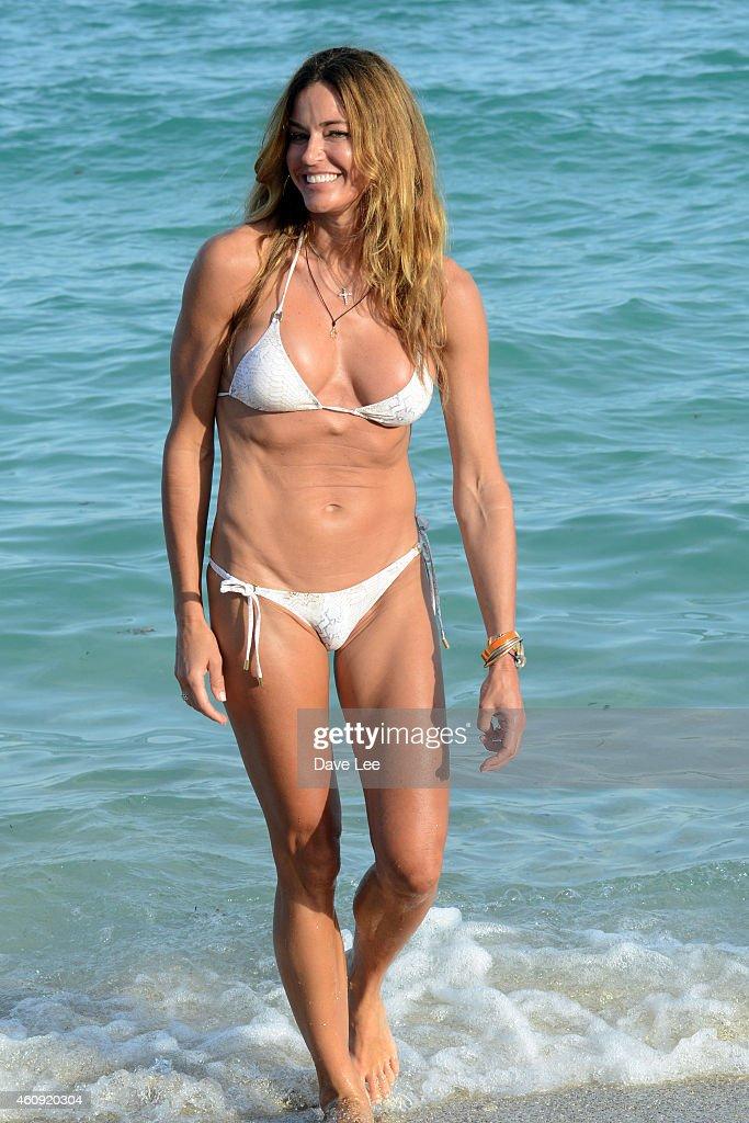 Kelly Bensimon is seen on December 30 2014 in Miami Florida
