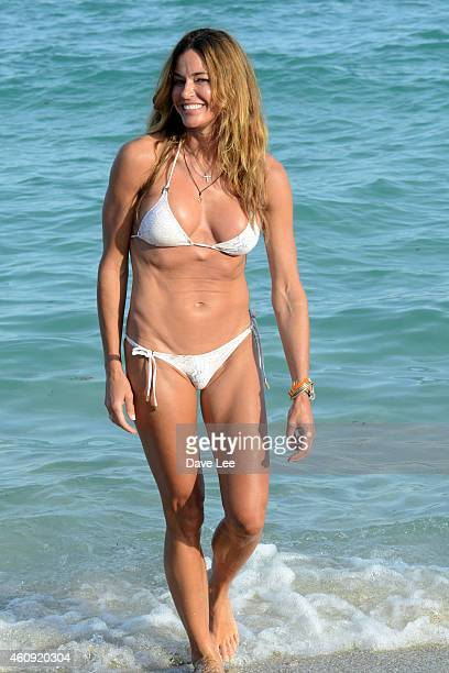 Kelly Bensimon is seen on December 30 2014 in Miami Florida