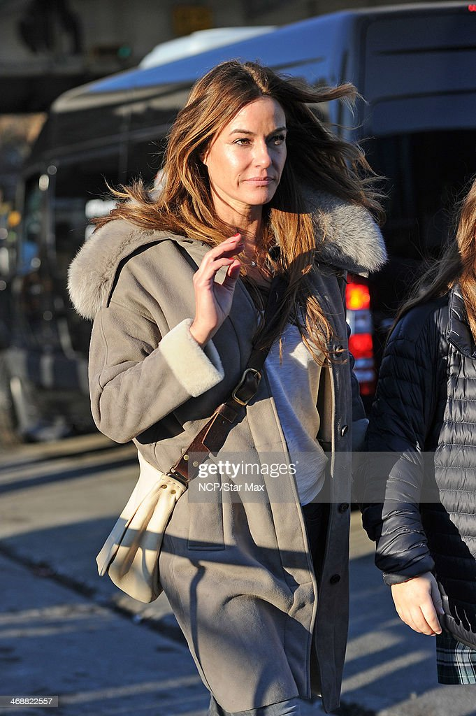 Kelly Bensimon is seen on February 11, 2014 in New York City.