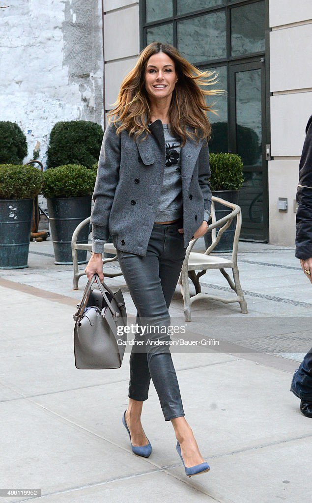 Kelly Bensimon is seen on March 13 2015 in New York City