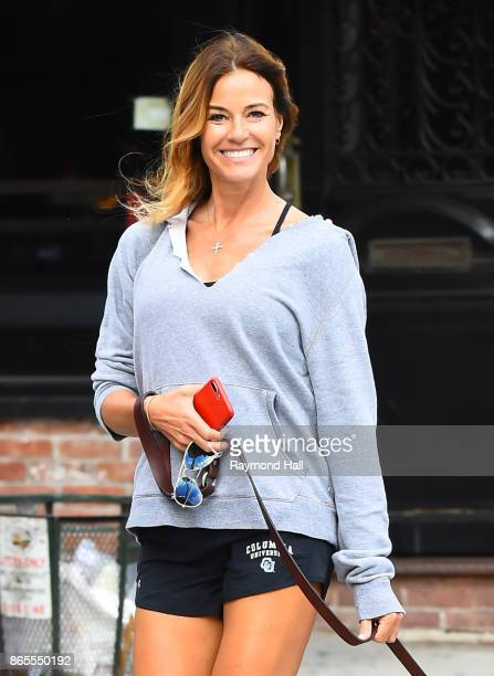 Kelly Bensimon is seen on October 23 2017 in New York City