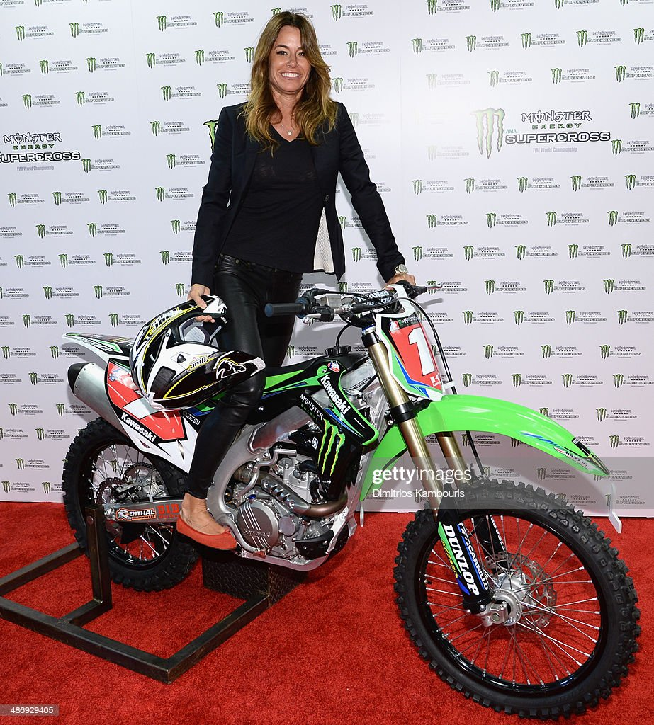 Kelly Bensimon of the Real Housewives of New York attends during Monster Energy SuperCross World Championship Race at MetLife Stadium on April 26...