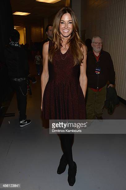 Kelly Bensimon poses backstage at Z100's Jingle Ball 2013 presented by Aeropostale at Madison Square Garden on December 13 2013 in New York City