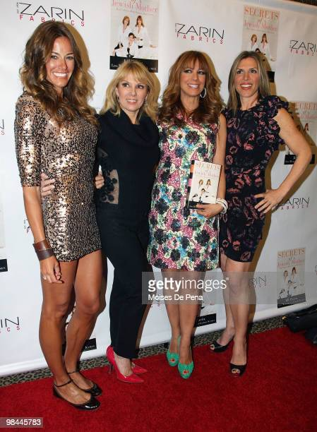 Kelly Bensimon Ramona Singer Jill Zarin and Jennifer Gilbert attend Jill Zarin's 'Secrets Of A Jewish Mother' Book Launch Party at Zarin Fabrics on...