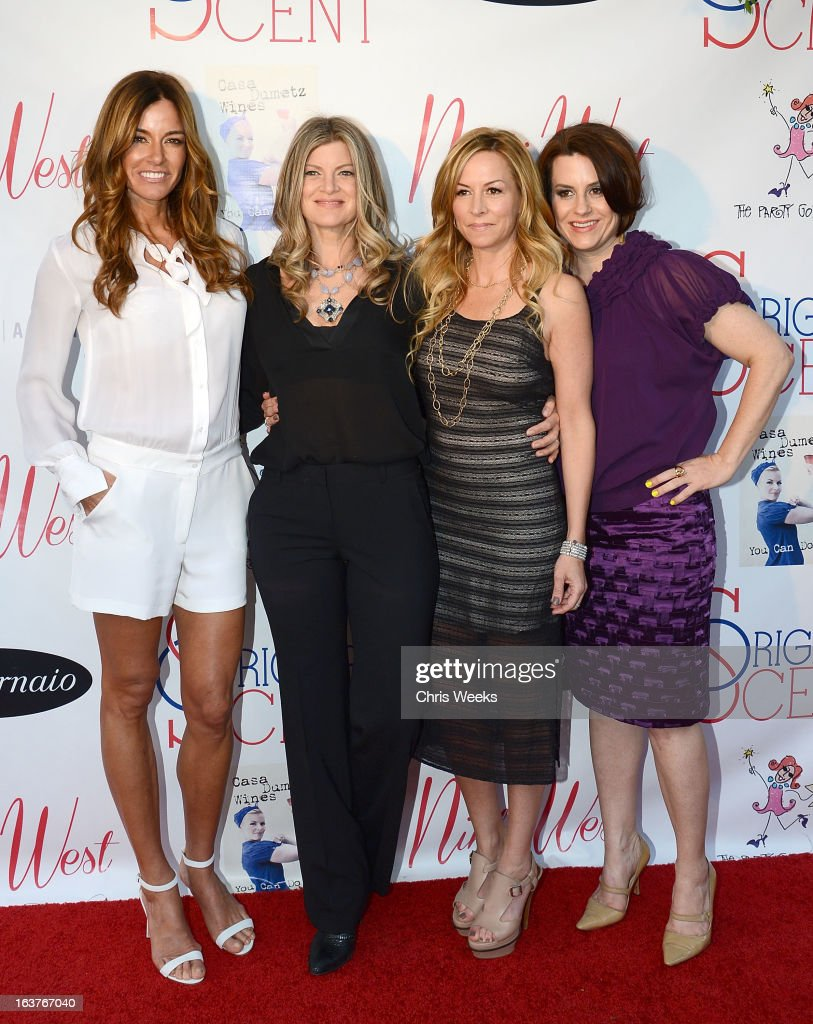 Kelly Bensimon, Sarah Horowitz and Marley Majcher attend the Original Scent launch at Nikki West Boutique on March 14, 2013 in Pasadena, California.