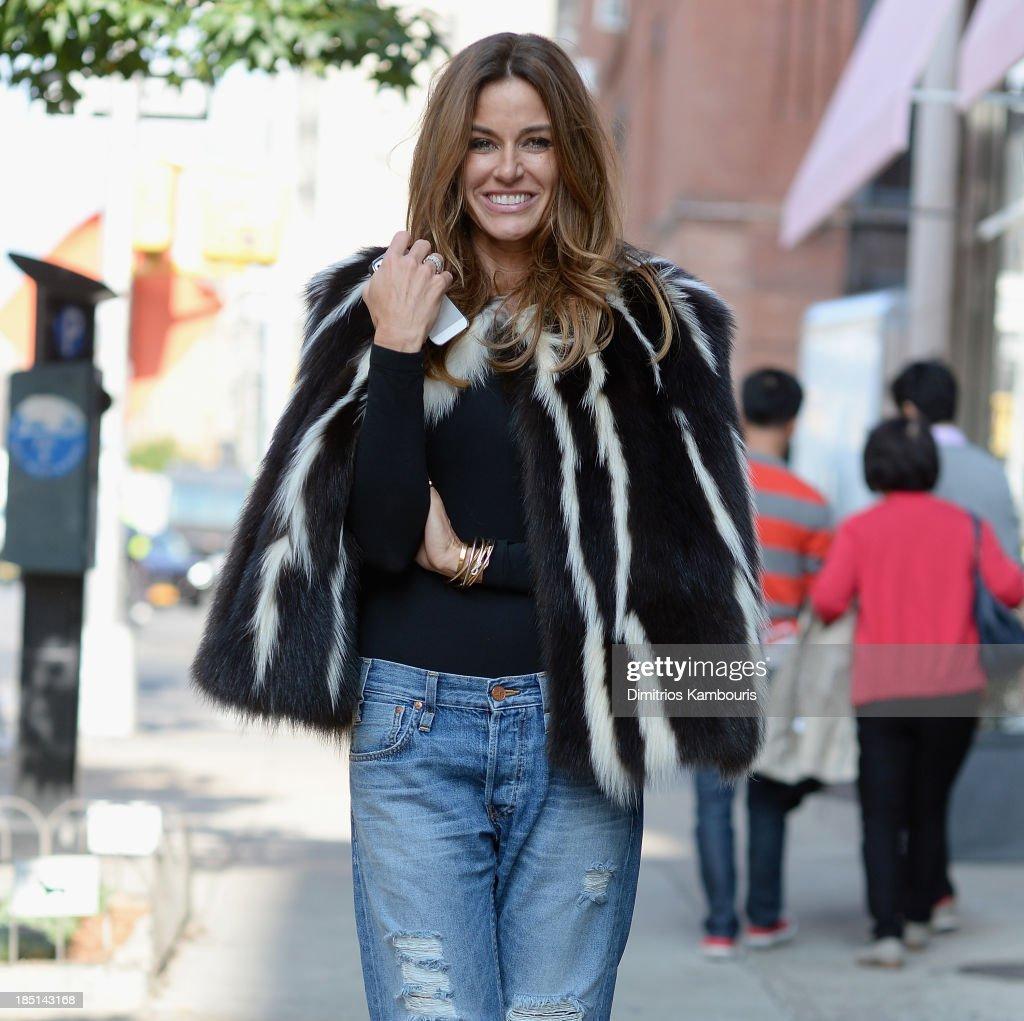 Kelly Bensimon seen on October 17 2013 in New York City