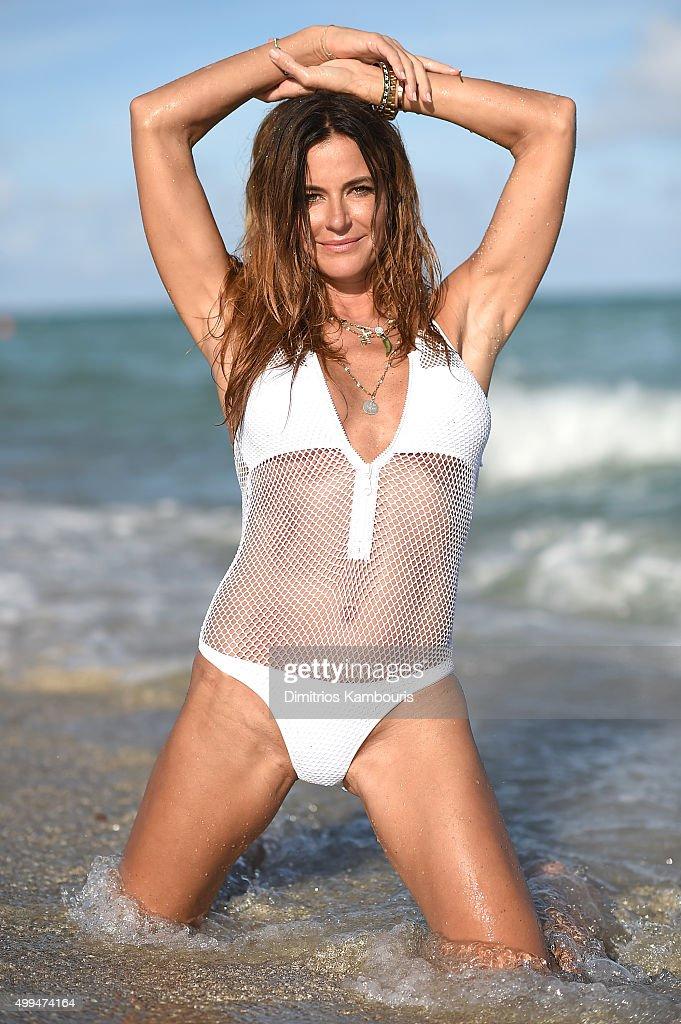 Kelly Bensimon Sighting On South Beach on December 1 2015 in Miami Beach Florida