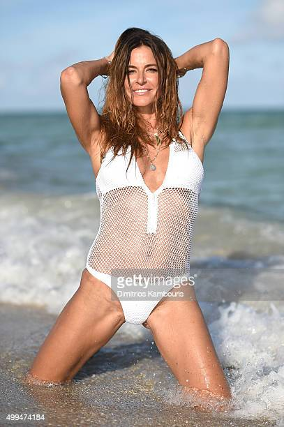 Kelly Bensimon Sighting On South Beach on December 1 2015 in Miami Beach Florida