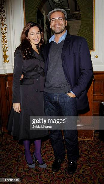 Kelly Brook and Billy Zane attending the Swimming with Sharks Gala Performance at Vaudeville Theatre on October 17 in London England
