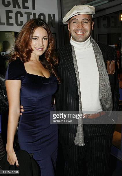 Kelly Brook and Billy Zane during The Times BFI London Film Festival 'Lives of the Saints' Foyer at Odeon West End in London Great Britain