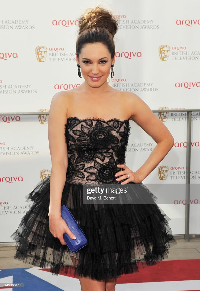 Kelly Brook arrives at the Arqiva British Academy Television Awards 2012 at Royal Festival Hall on May 27, 2012 in London, England.