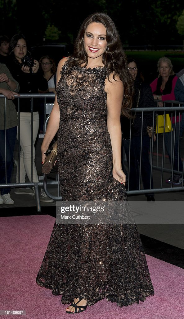 <a gi-track='captionPersonalityLinkClicked' href=/galleries/search?phrase=Kelly+Brook&family=editorial&specificpeople=206582 ng-click='$event.stopPropagation()'>Kelly Brook</a> arrives at The Boodles Boxing Ball at The Grosvenor House Hotel on September 21, 2013 in London, England.