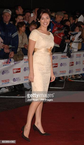 Kelly Brook arrives for the Pride of Britain Awards 2007 The London Studios Upper Ground London SE1