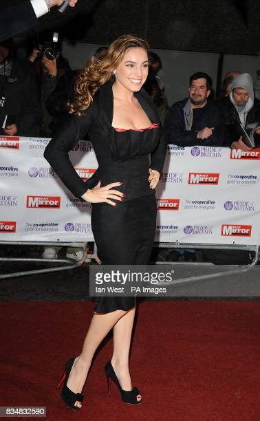 Kelly Brook arrives for The Pride of Britain Awards at the London Television Centre Upper Ground in central London PRESS ASSOCIATION Photo Picture...