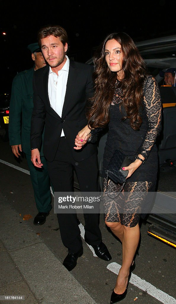 <a gi-track='captionPersonalityLinkClicked' href=/galleries/search?phrase=Kelly+Brook&family=editorial&specificpeople=206582 ng-click='$event.stopPropagation()'>Kelly Brook</a> at Annabel's club on September 24, 2013 in London, England.