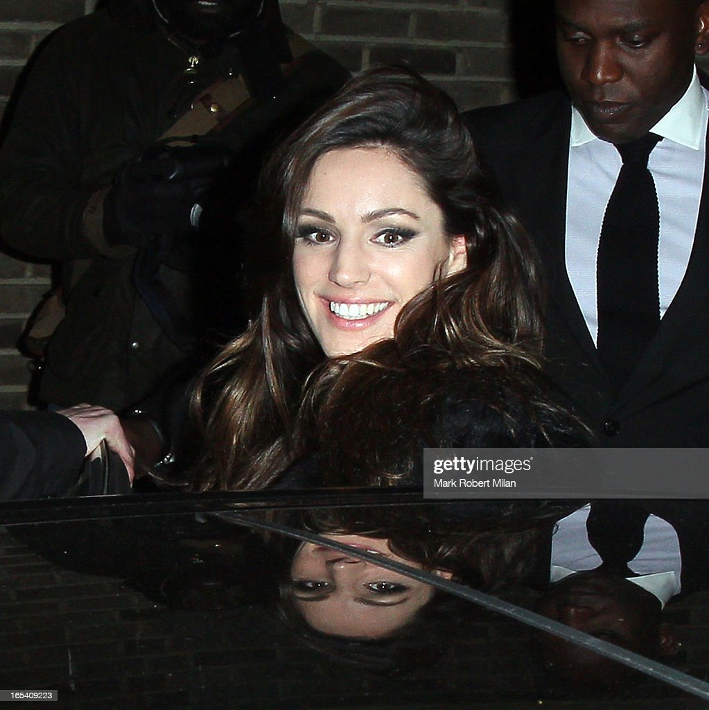 <a gi-track='captionPersonalityLinkClicked' href=/galleries/search?phrase=Kelly+Brook&family=editorial&specificpeople=206582 ng-click='$event.stopPropagation()'>Kelly Brook</a> at Riverside studios on April 3, 2013 in London, England.