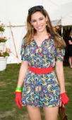 Kelly Brook at the Cartier International Polo Match at Guards Polo Club on July 27 2008 in Windsor England