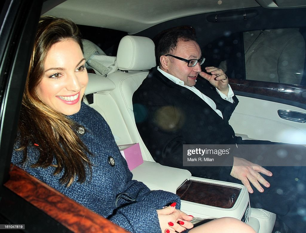 Kelly Brook at the Little House club on February 8, 2013 in London, England.