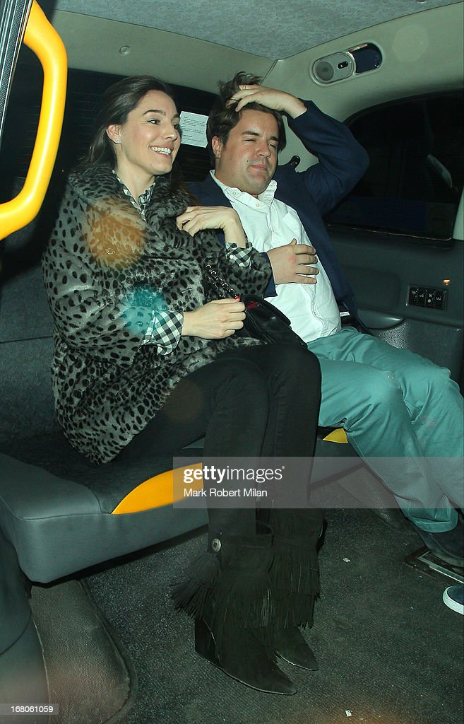 Kelly Brook at The Little House club on May 4, 2013 in London, England.