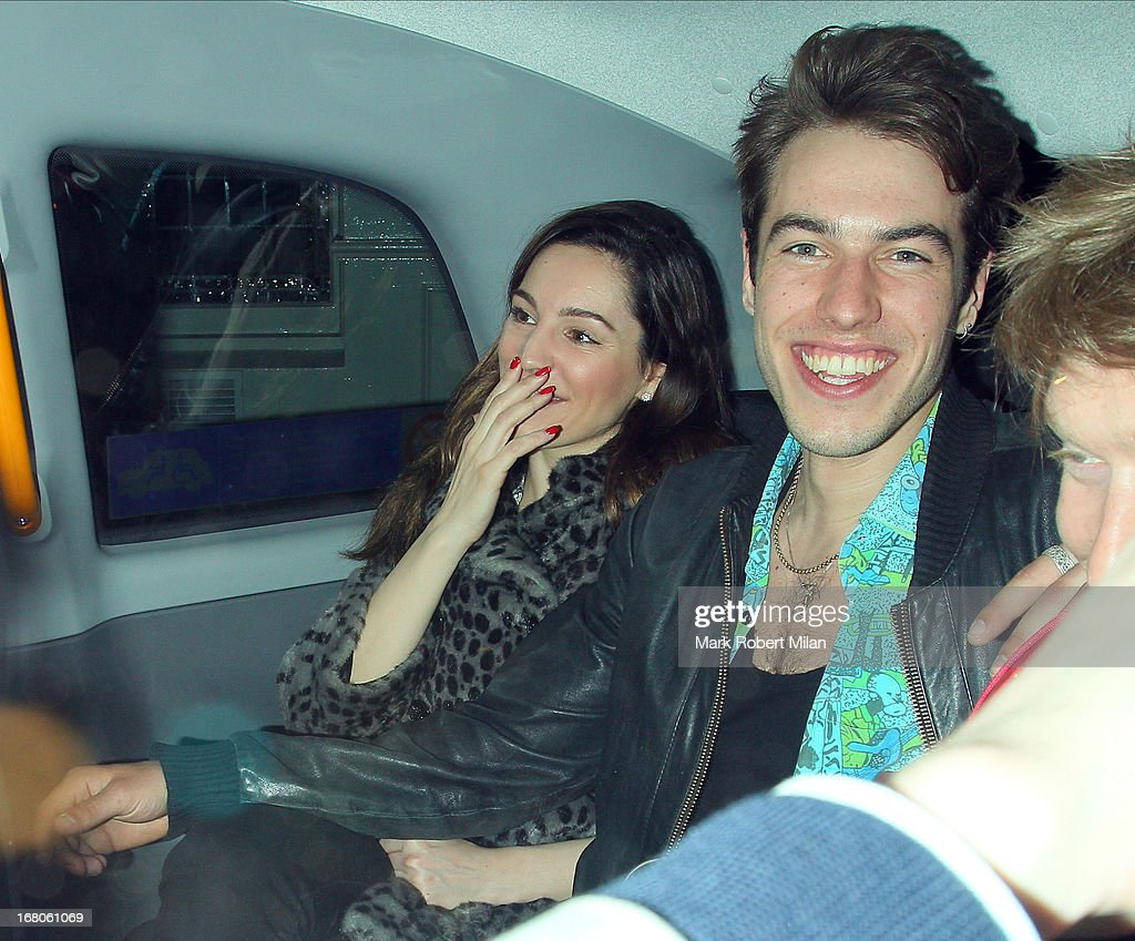 <a gi-track='captionPersonalityLinkClicked' href=/galleries/search?phrase=Kelly+Brook&family=editorial&specificpeople=206582 ng-click='$event.stopPropagation()'>Kelly Brook</a> at The Little House club on May 4, 2013 in London, England.