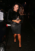 Kelly Brook attending The Sunday Times Style Christmas party at Tramp night club on December 9 2014 in London England