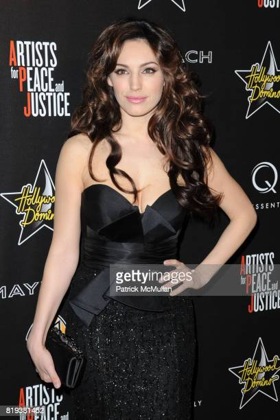Kelly Brook attends 3rd Annual PreOscar Hollywood DOMINO Gala Benefiting Artists for Peace and Justice at BAR 210 on March 4 2010 in Beverly Hills...