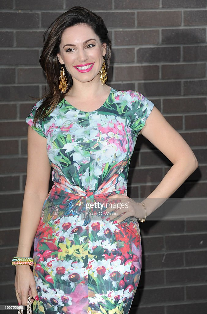 <a gi-track='captionPersonalityLinkClicked' href=/galleries/search?phrase=Kelly+Brook&family=editorial&specificpeople=206582 ng-click='$event.stopPropagation()'>Kelly Brook</a> attends as Chickenshed perform a caberet showcase at The London Television Centre on April 16, 2013 in London, England.